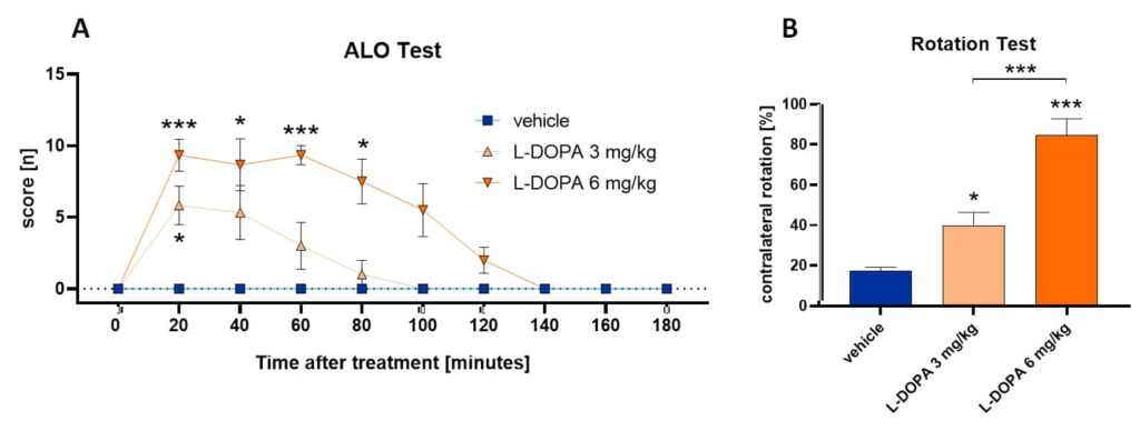 Modelling the L-DOPA Priming Effect in Rats